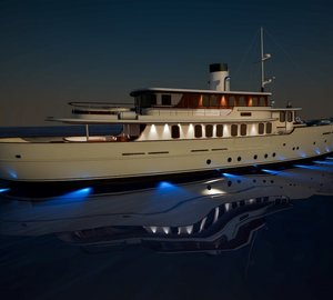 Sarp Yacht's CLASSIC 40m Yacht Concept nominated for IY&A Award 2015