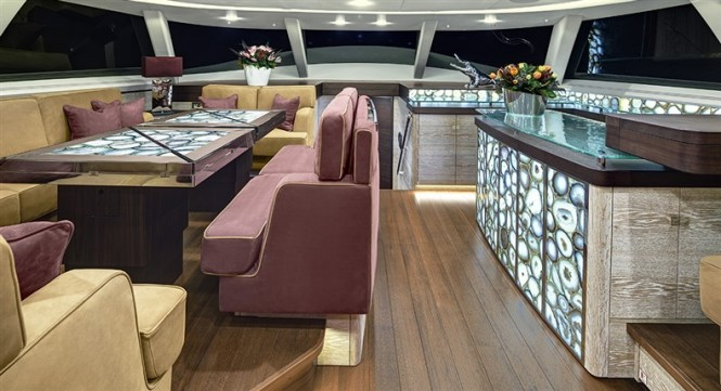 Escapade Yacht - Interior - Photo by Chris Lewis