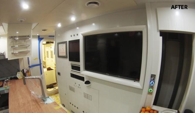 Happy Hour yacht - Galley - AFTER