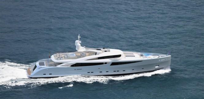 ISA 43M Granturismo yacht Silver Wind by ISA YACHTS
