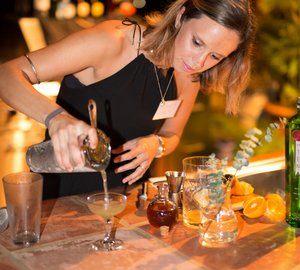 Jasmin Rutter from sailing yacht MARIE becomes Winner of Diageo WORLD CLASS™ Yachting Cocktail Competition