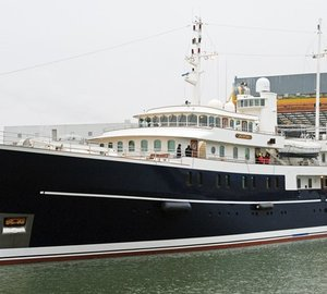ICON Yachts re-launch newly refitted motor yacht SHERAKHAN