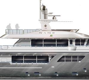 CdM announces sale of Darwin Class 102' yacht and Nauta Air 108' superyacht