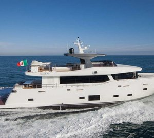 Cantiere delle Marche to compete with motor yacht NOGA in IY&A Awards 2015