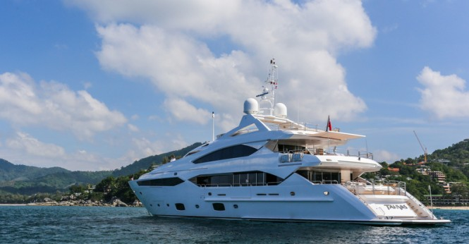 Luxury motor yacht Tanvas at ASR 2014 - Image credit to Asia Superyacht Rendezvous