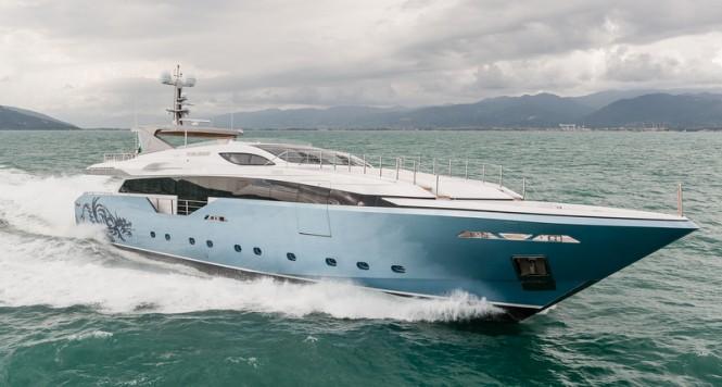 Luxury super yacht Flying Dragon - Image credit to AB Photodesign