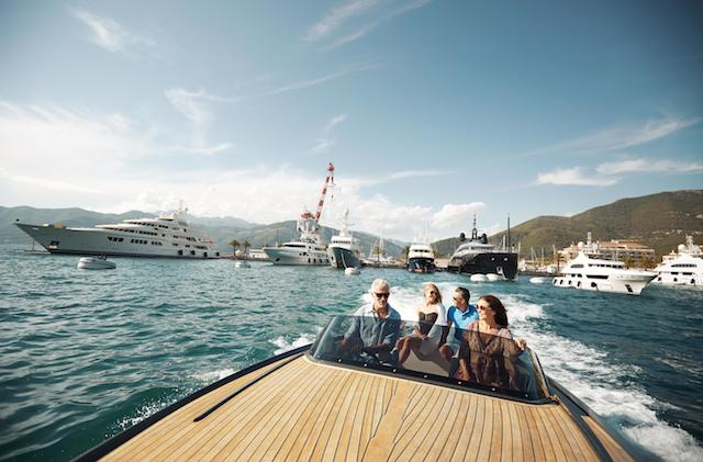 Montenegro's famed Bay of Kotor and a stunning coastline attract superyacht owners from around the world. Image courtesy of Porto Montenegro