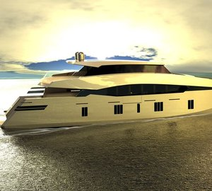 New 115ft motor yacht 115 Sunreef Power concept introduced by Sunreef Yachts