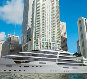 Latest 140m mega yacht IPI140 concept unveiled by Impossible Productions Ink LLC