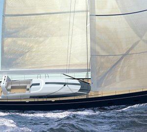 New 39m (129') performance sailing yacht Project C.2130 by Philippe Briand and Perini Navi