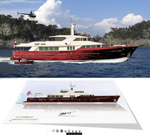 New 41,41m Explorer Motor Yacht LA CONFIANZA concept by P.B. Behage