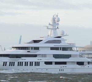 Photos: 88 5M OCEANCO Mega Yacht INFINITY — Yacht Charter