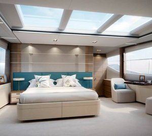 Additional renderings of new M Class motor yacht Princess 30M