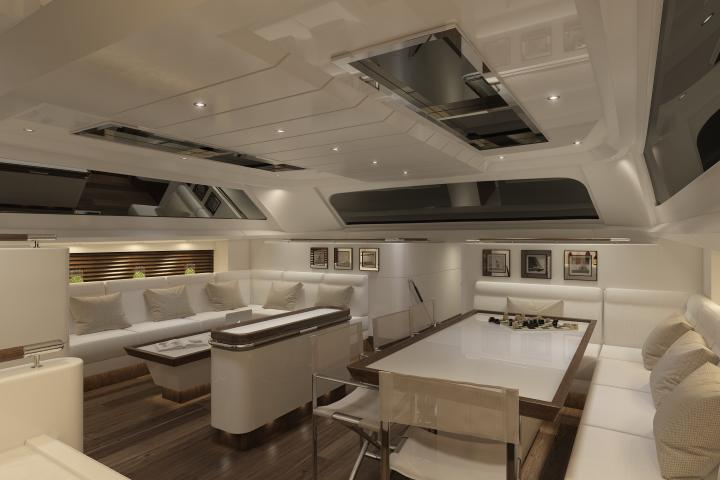 SAILING 30.30m superyacht concept - Lounge