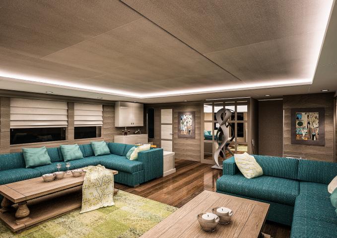 SARP46 Yacht - Lounge