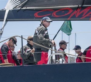 Rolex Sydney Hobart Yacht Race 2014: 100ft sailing yacht COMANCHE leads the fleet