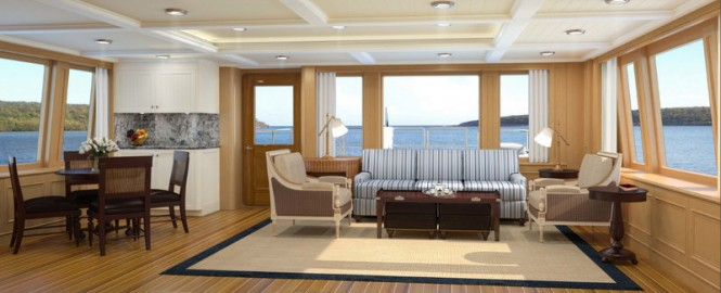 Superyacht ONIKA - Interior