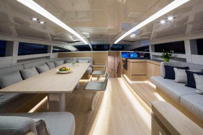 Superyacht WinWin - Interior