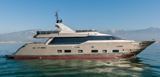 Tecnomar Nadara 30 superyacht Zahraa - Photo by AA Photodesign
