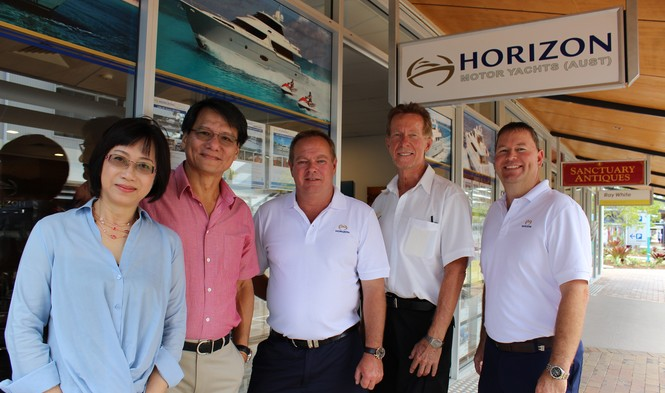 Two New Directors for Horizon Motor Yachts Australia