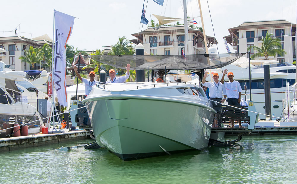Wider 42 yacht at PIMEX 2014