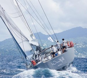 Southern Wind 94 sailing yacht Windfall completes RORC Transatlantic Race 2014