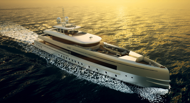 50m explorer motor yacht YN 16750 – A FDHF by Van Oossanen and Associates - Photo credit Omega Architects