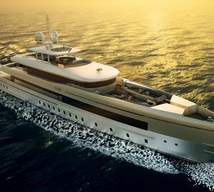 New 50m motor yacht SIBELLE (YN 16750) launched by Heesen Yachts