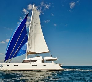Caribbean catamaran vacation charter yacht LIR's huge success at Antigua Charter Yacht Show