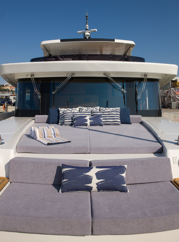CdM Nauta Air 86 super yacht YOLO with interior design by Luxury Projects