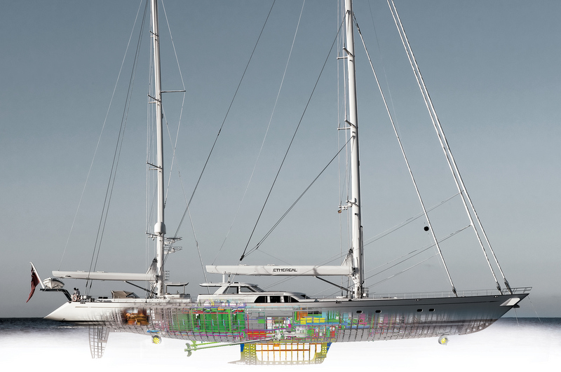Etheral Yacht - Image by Franco Pace