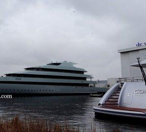 Photos: New 83,5m mega yacht SAVANNAH (hull 686) by Feadship