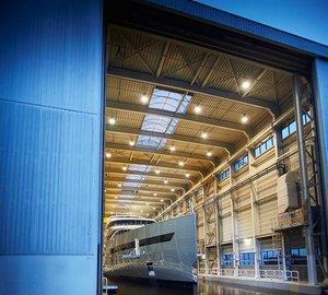 Feadship launches 83,50m motor yacht SAVANNAH - The world's first hybrid superyacht