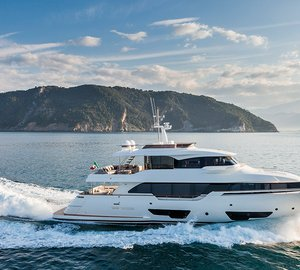 Ferretti Custom Line Navetta 28 Yacht with VOTIS entertainment system by Videoworks