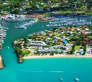 2015 Superyacht Marina of the Year Runner Up for IGY Marinas' Rodney Bay Marina