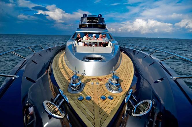 Lazzara motor yacht ALGORYTHM