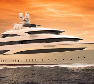 Giorgio & Stefano Vafiadis-designed 72m motor yacht O'PARI 3 to be launched by Golden Yachts soon