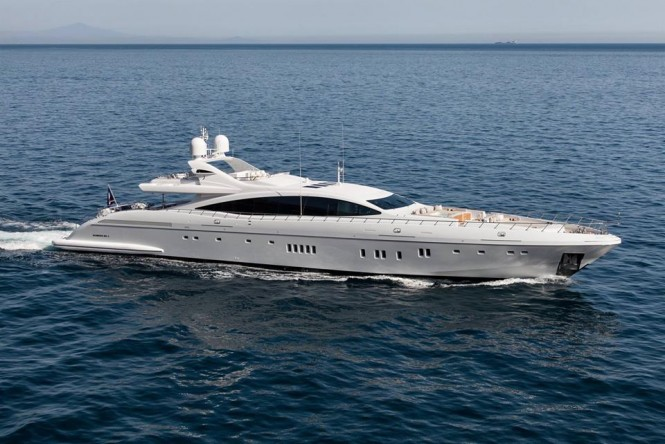 Luxury motor yacht Moonraker