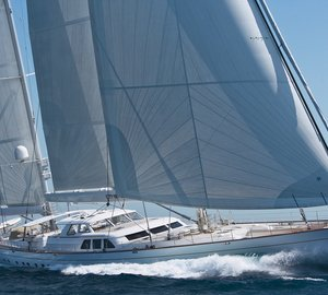 Royal Huisman sailing yacht ETHERAL – World's first hybrid superyacht launched in 2008