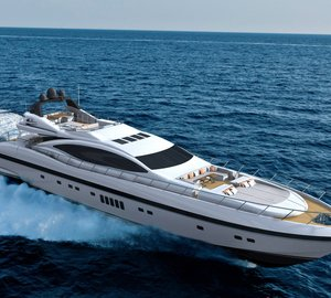 Sale of new Mangusta 132 motor yacht Hull #1 announced by Overmarine Group