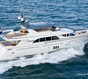Successful technical sea trials for Guido de Groot-designed Mulder 98 Flybridge super yacht YN1391