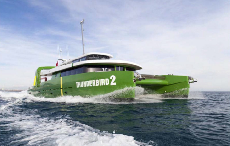 New 22m motor yacht Thunderbird 2 delivered by Brilliant Boats and BB Yacht