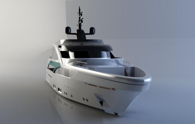New superyacht SLeek 39m design by SABDES and Feadship