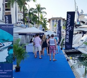 A very successful 12th Phuket International Boat Show for Princess Yachts South East Asia