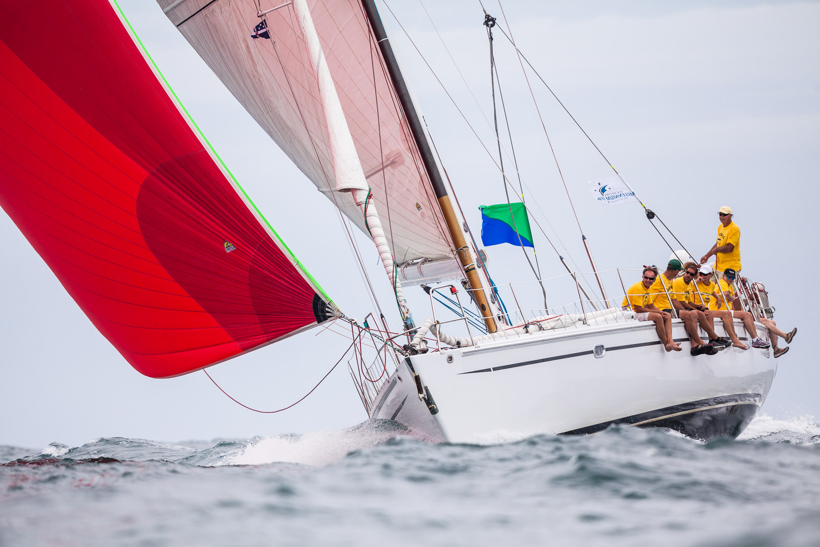 Sailing yacht Antaeus - Photo by Jeff Brown