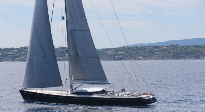 Sailing yacht Blue Papillon - Image by Flypictures