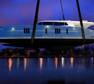 Launch of first Sunreef 74 sailing yacht WILDBERRY