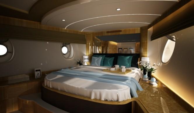 Super yacht Svetlana - Master Cabin