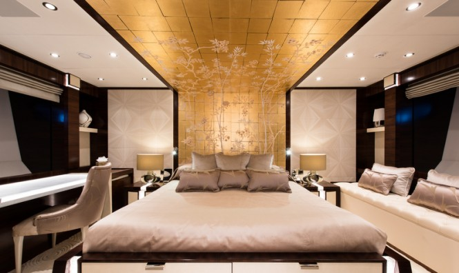 Superyacht Silver Wind - Guest Cabin - Photo Credits @ SuperyachtMedia