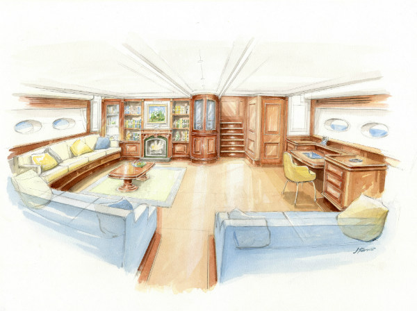 Truly Classic 126ft superyacht - Interior